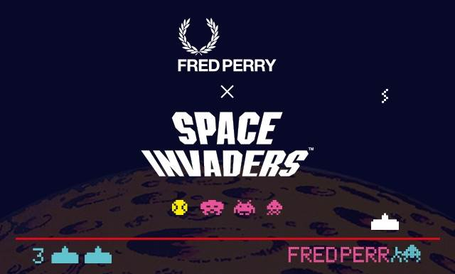 img1 3 - Fred Perry x Space Invaders