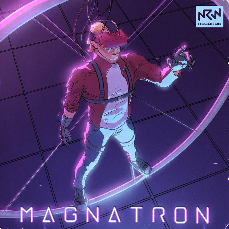 MagnatronCoverArt2015 NRWRecords - The Magnatron Cover Art Can Now Be Revealed!