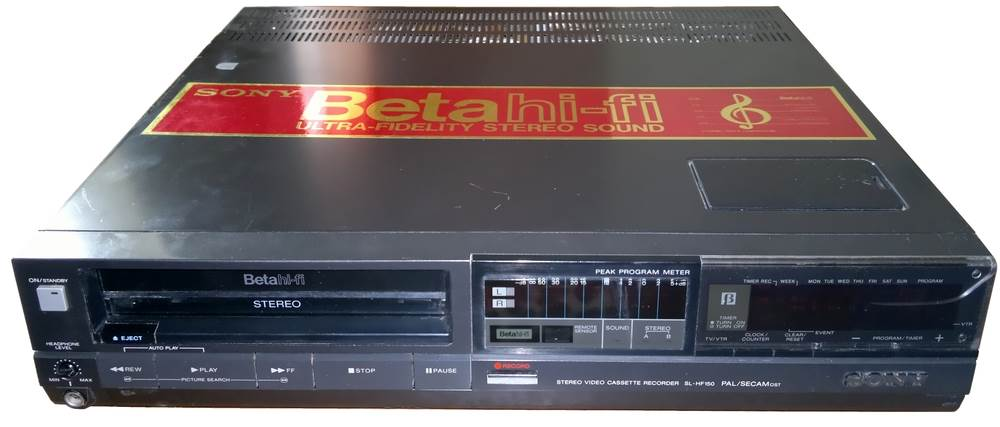 video tape - Sony Says It Will Stop Manufacturing Betamax Video Cassettes