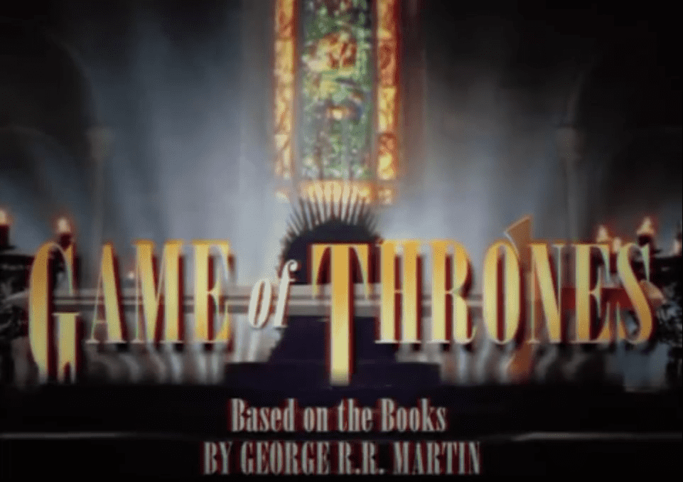 Got - Game of Thrones - VHS Intro
