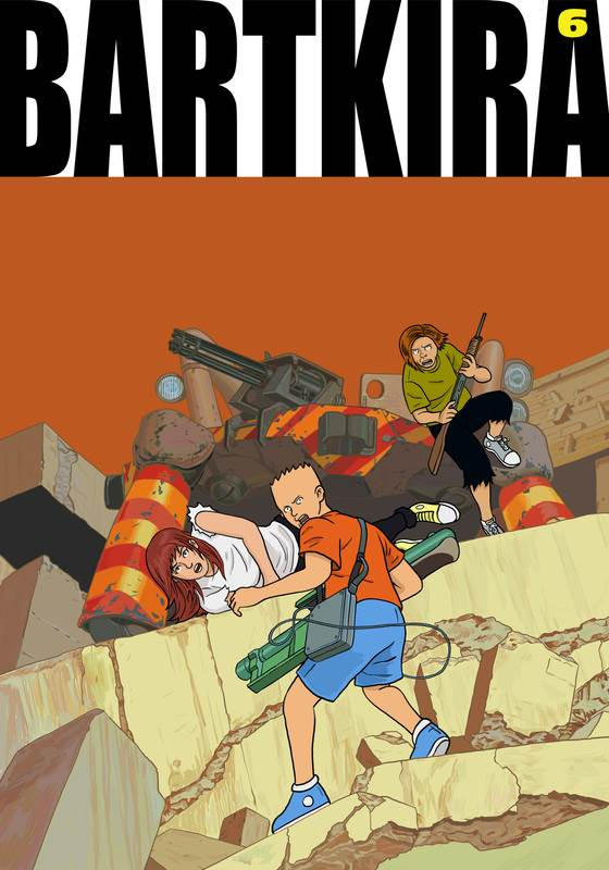 img1 3 - Presenting... Bartkira The Anime