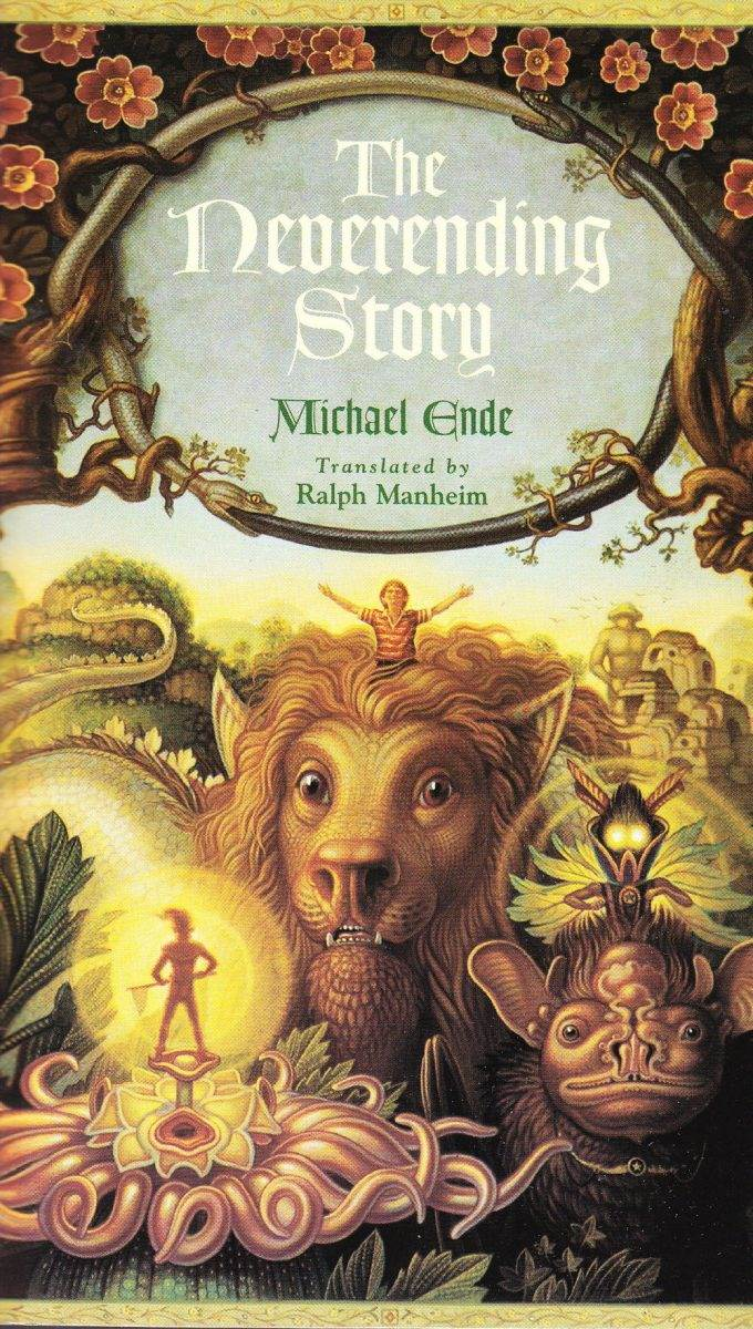 img 1 - The Neverending Story by Michael Ende (1979, Tr. 1983)