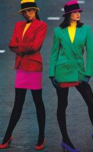 KenzoEnsemblesphotographedbyMarcHispardforELLE1987 183x300 - Kenzo,+Ensembles,+photographed+by+Marc+Hispard+for+ELLE,+1987