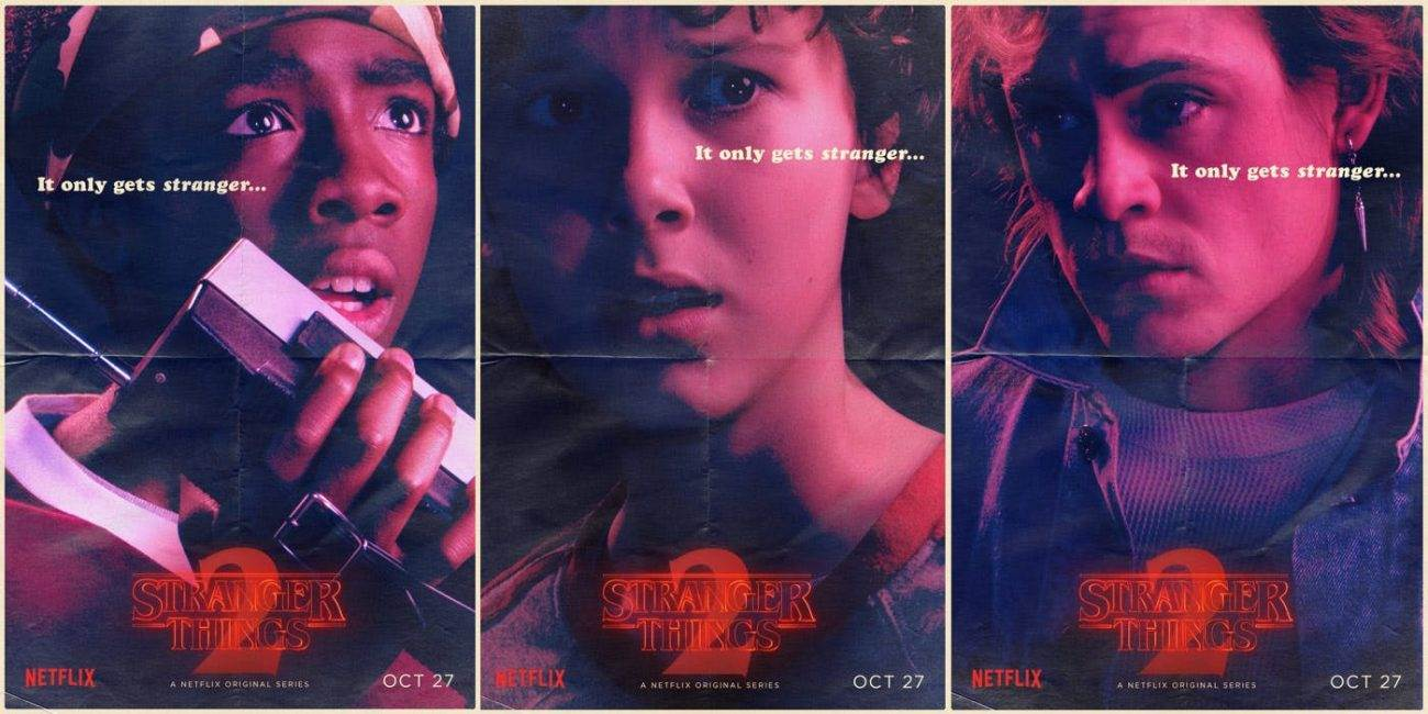 Stranger Things Season 2 Character Posters 1 1300x650 - Stranger Things Season 2 - Final Trailer!