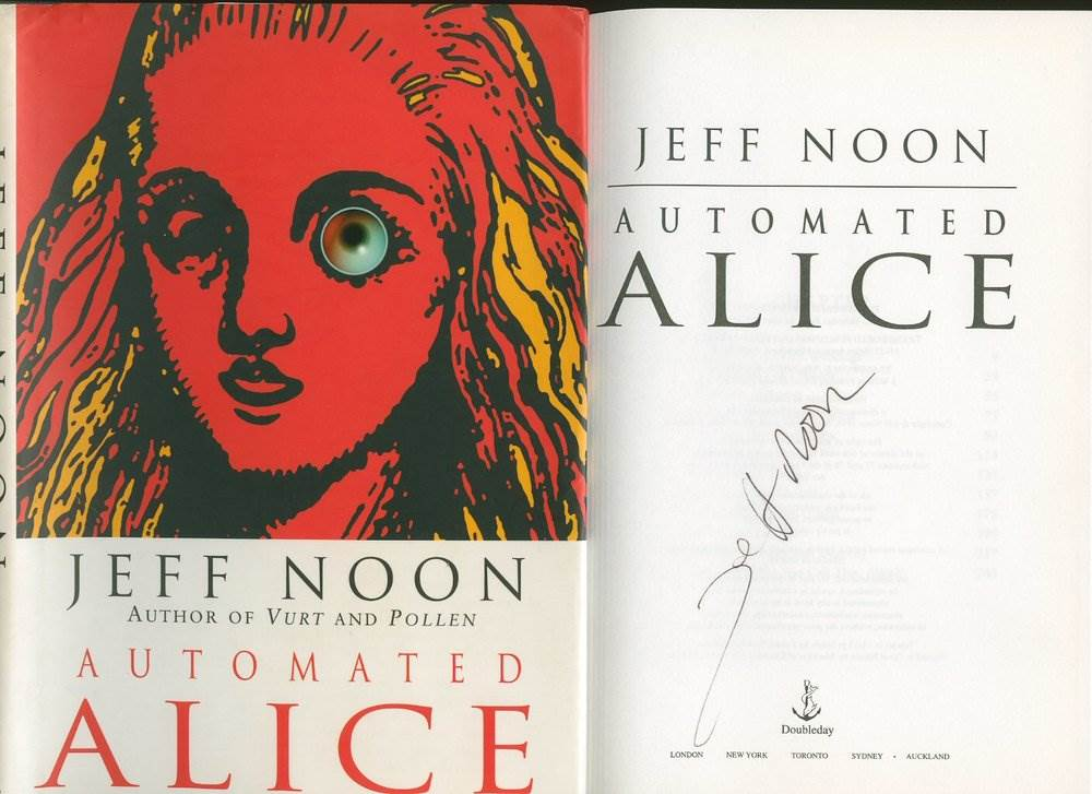 img 2 - Automated Alice by Jeff Noon (1996)
