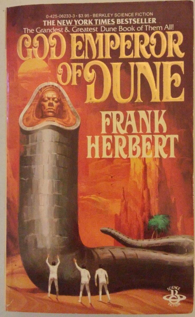 4cb0048d4e2eb40d1e021743adf410a9 - God Emperor Of Dune by Frank Herbert (1981)