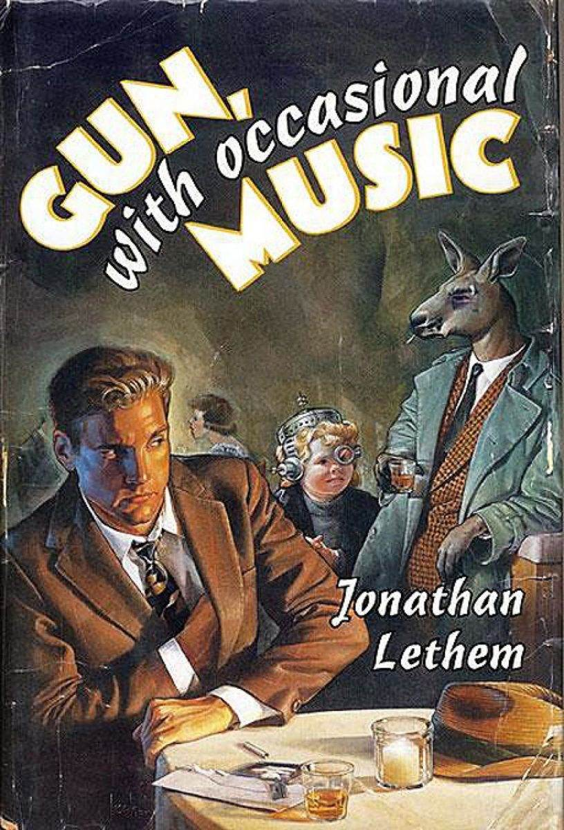 Gun - Gun, with Occasional Music by Jonathan Lethem (1994)