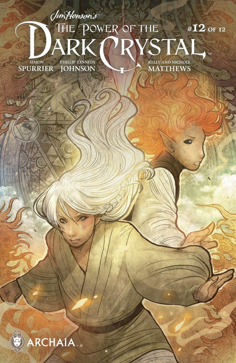 PowerDarkCrystal 012 B Subscription - The Power of the Dark Crystal #12 - Comic Review (SPOILERS!)