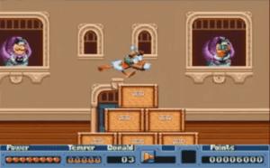 qwert 300x186 - QuackShot starring Donald Duck (Sega, 1991)
