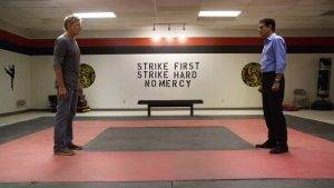 cobra kai cobra kai series youtube red  may 2 rgb 300x169 - Cobra Kai : A Review of Episodes 1 & 2