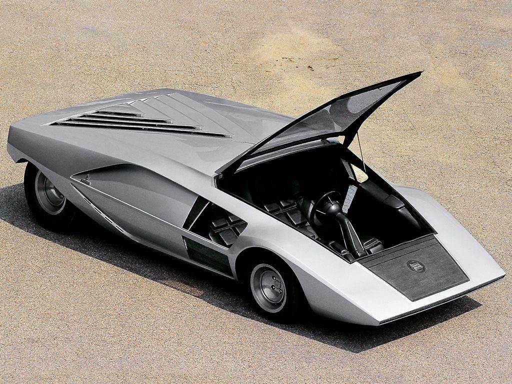 lancia stratos zero wallpaper 7 1024x768 - Retro Motors Feature - Concept Cars