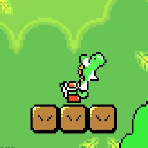 d1c50503a19aef4c1815d7c7965a2bc0 yoshi mario kart - Super Mario World (Nintendo, 1990)