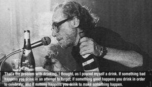 "Charles Bukowski Quotes 2 300x173 - Retro Double Movie Review - BUKOWSKI - ""The Last Reading"" (1980) & ""Born into This"" documentary (03')"