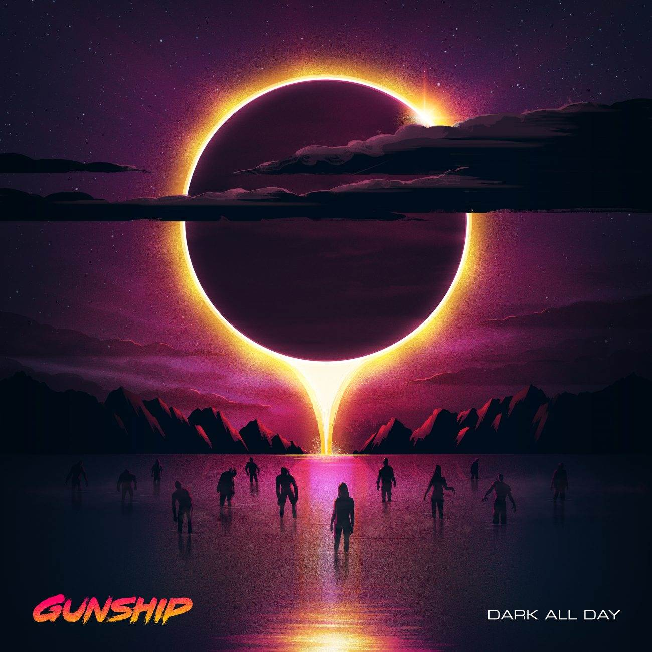 "GUNSHIP Dark All Day Album Pack Shot 1300x1300 - GUNSHIP Releases New Single and Video, Announces Album ""Dark All Day!"""