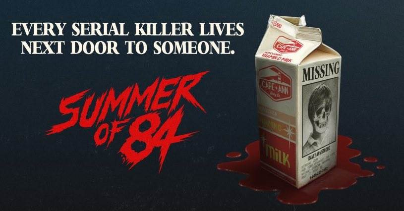 summerof84banner - Summer of 84' Trailer is Online