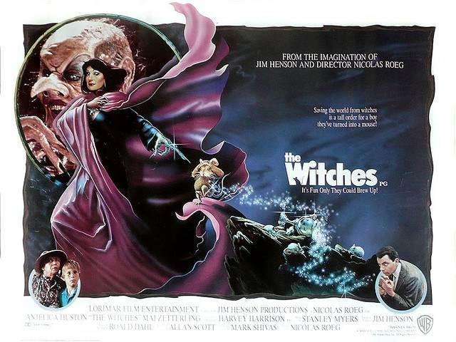 "thewitches - Jim Henson's ""The Witches"" is getting a Remake"