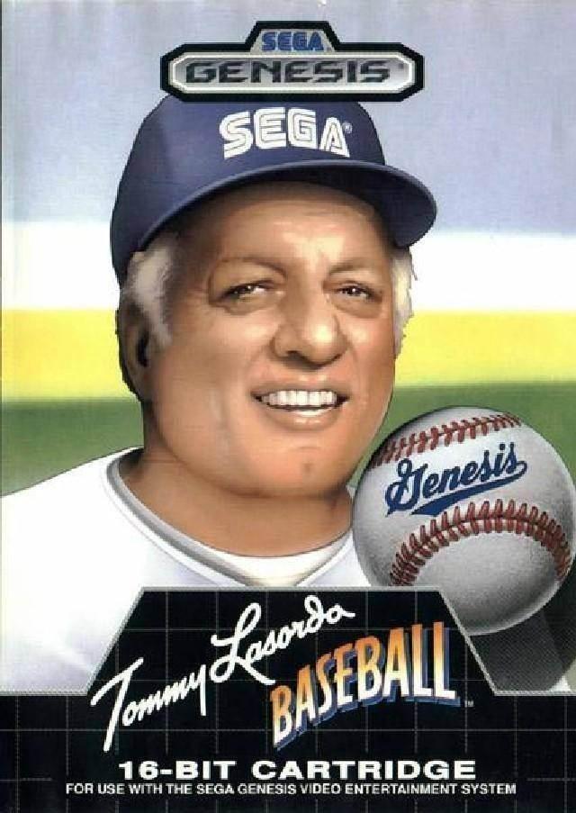 tlasorda baseball sega 1989 - Haunting Box Art