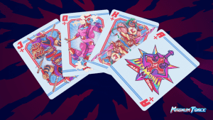 d3d09408b0ca0102e19ba6f5196af160 original 300x169 - Magnum Force: 80's Themed Cartoon/Action Playing Cards!