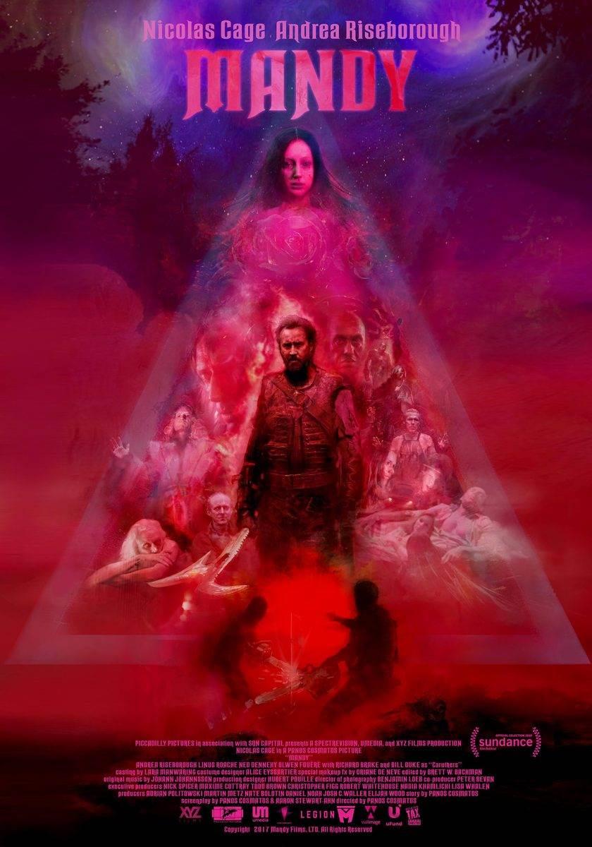 Mandy poster 1 - MANDY, Panos Cosmatos' psychotic, violent, delightful, Stoner Metal Fantasy.