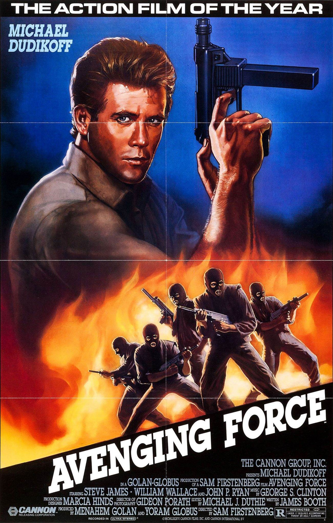 avenging force 1300x2041 - Retro Movie - AVENGING FORCE (1986)