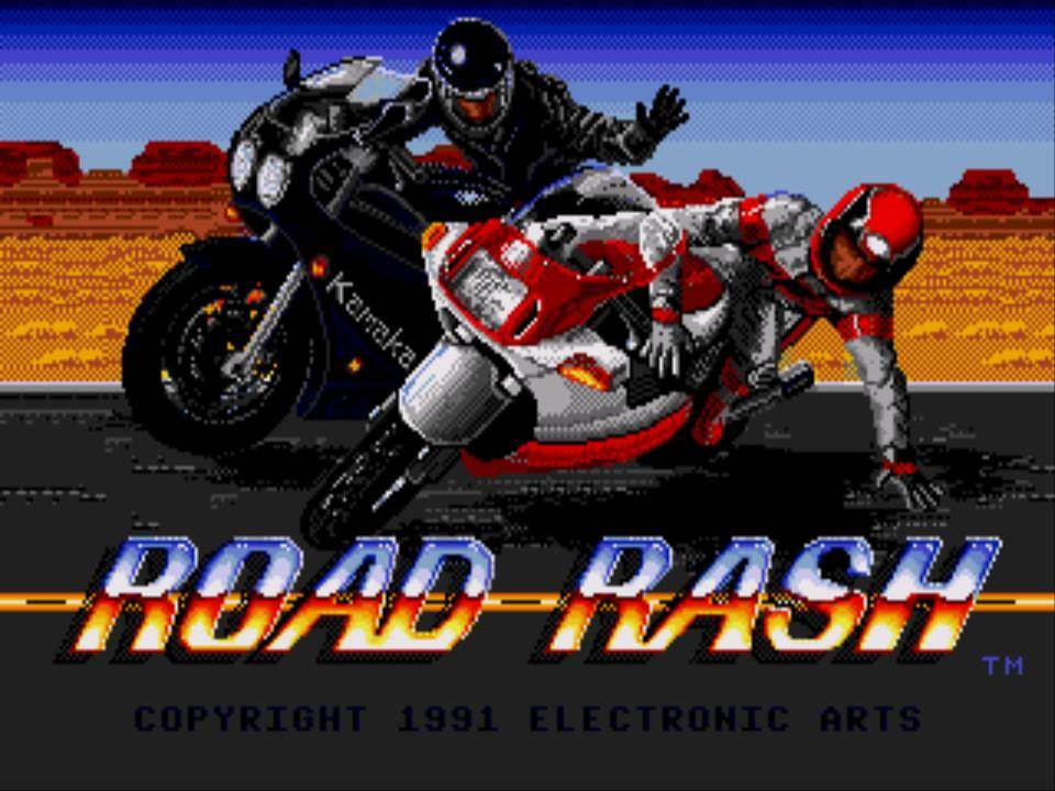 roadrash 001 - Road Rash (Electronic Arts, 1991)