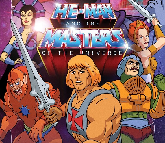 motu cover - Cartoon Caravan: He-Man and the Masters of the Universe (Filmation, 1983)