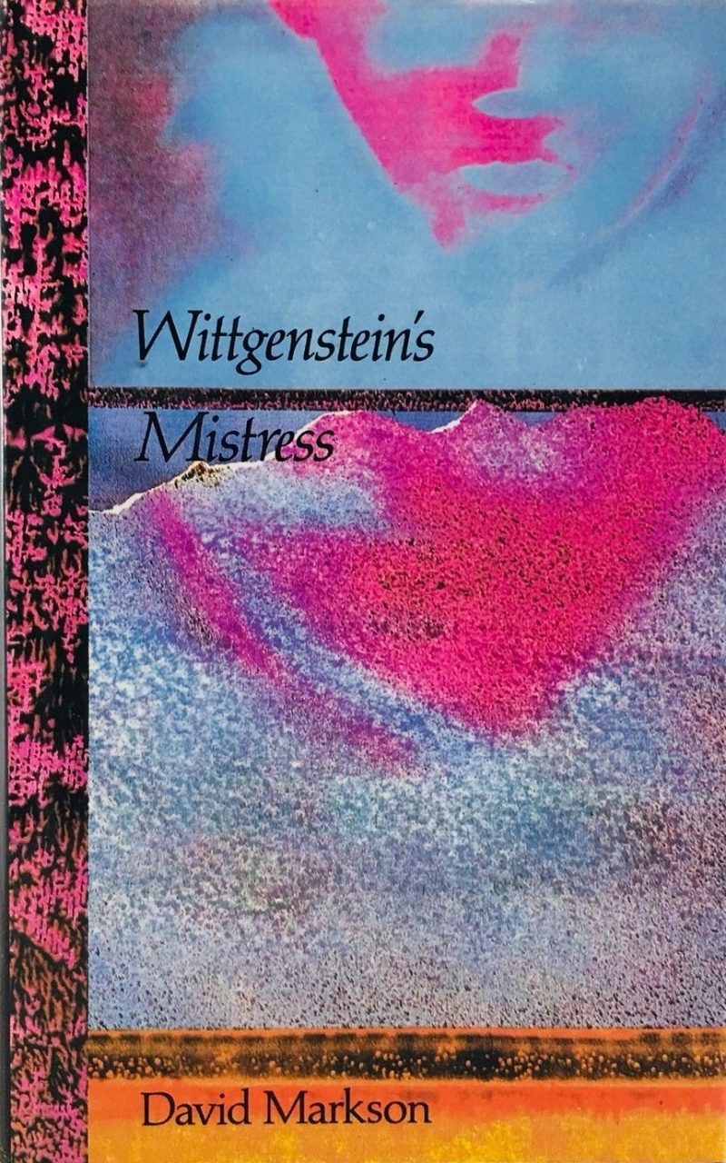 wittgenstein - Wittgenstein's Mistress by David Markson (1988)