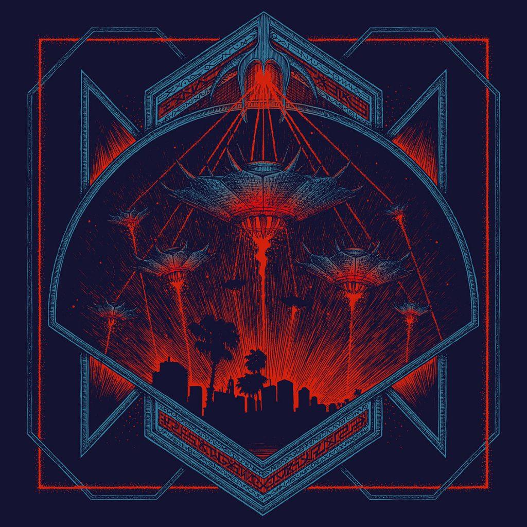 3 1024x1024 - Top Ten Retrowave Album Covers of 2018