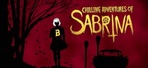 Chilling Adventures of Sabrina logo 300x137 - Best things in RETRO TV from 2018