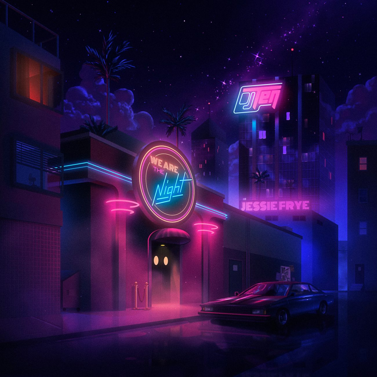 WATN Final 1300x1300 - Top Ten Retrowave Albums of 2018