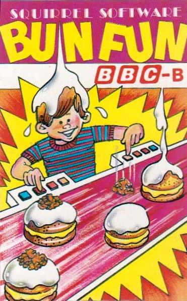 bun fun bbc micro squirrel software 1983 - Box Art Part IV: Life's a Struggle™