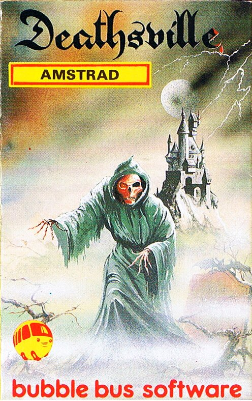 deathsville amstrad bubble bus software 1986 - Box Art Part IV: Life's a Struggle™