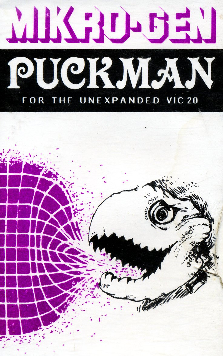 puckman vic 20 mikro gen 1981 - Box Art Part IV: Life's a Struggle™