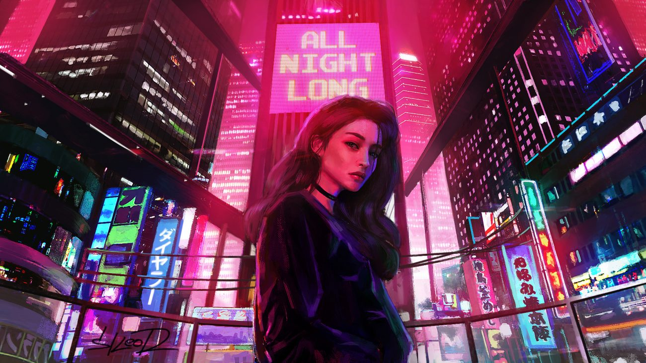 tony skeor allnightlong 1300x731 - Top Ten Retrowave EP's of 2018