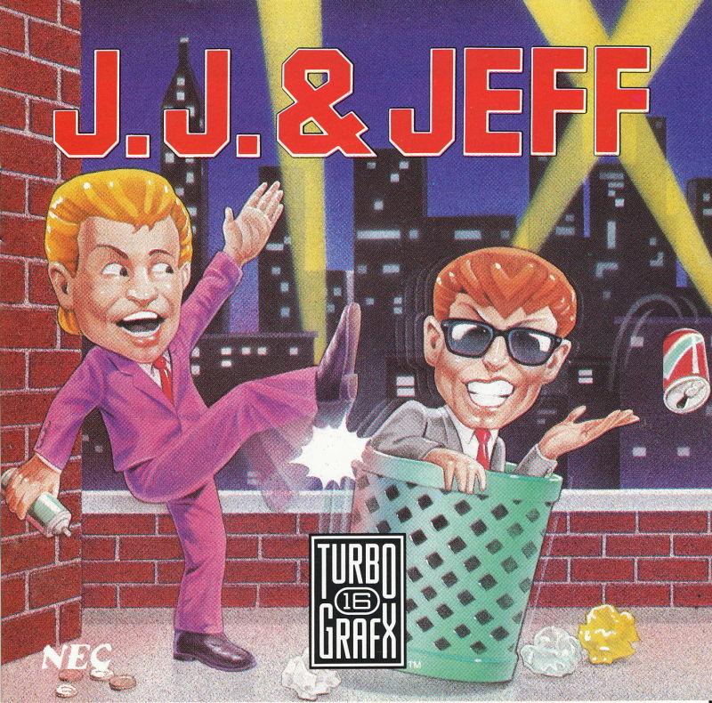 211748 j j jeff turbografx 16 front cover - Grab Bag: TurboGrafx 16 Games