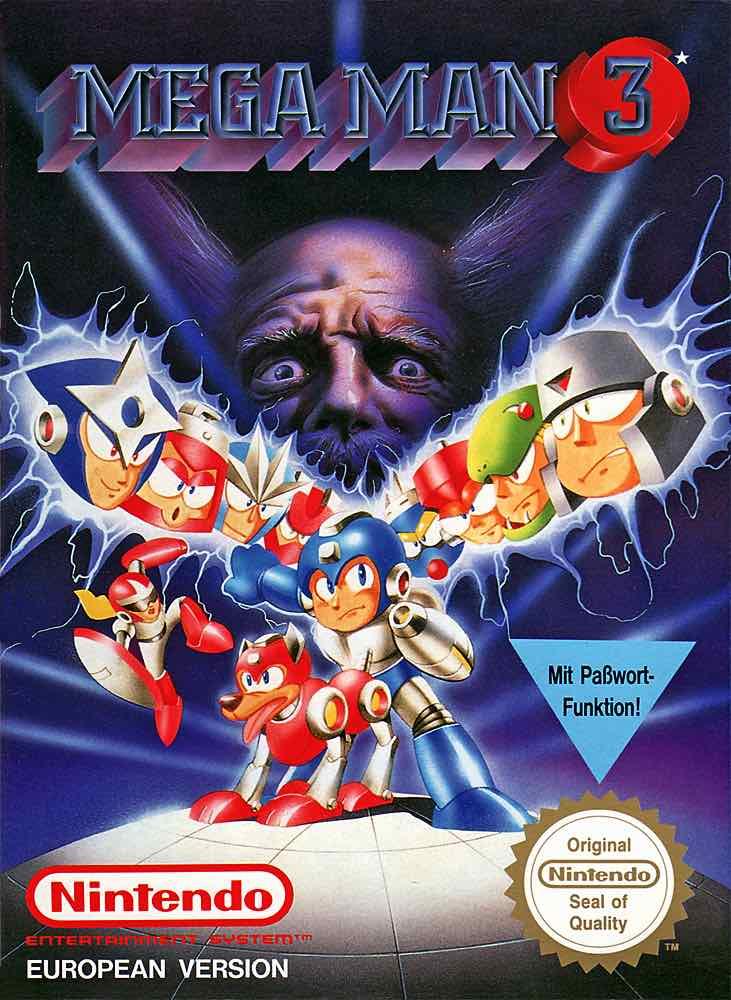 Mega Man 3 EU Cover - Box Art V: Box Odyssey