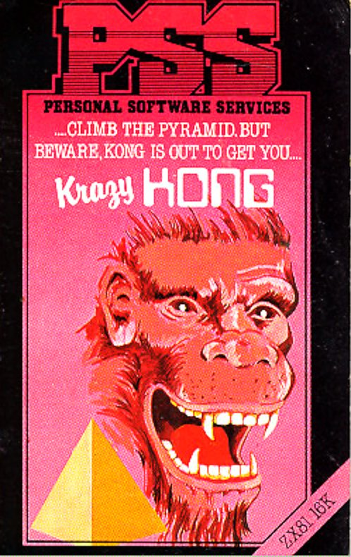 krazy kong zx81 pss 1983 - Box Art VI: The Deadline Annihilator™