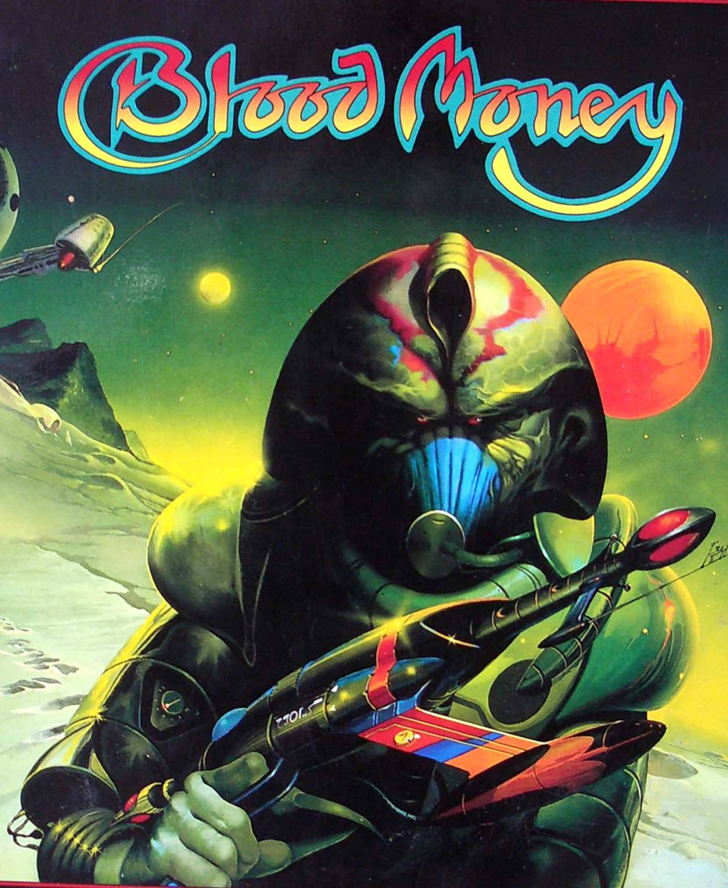 bloodmoneybig - Box Art 7: Gallery of the Ghastly