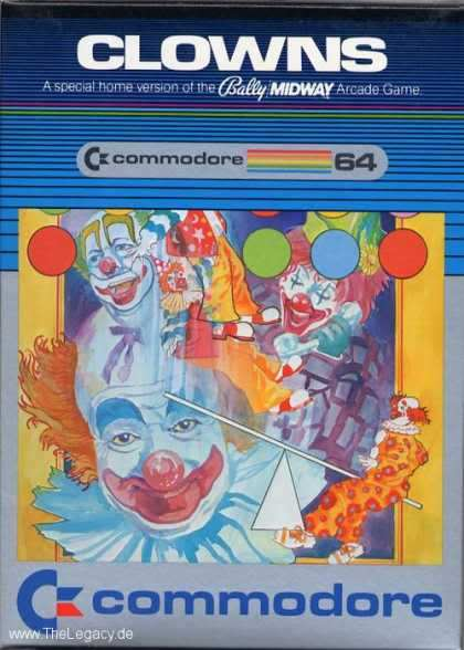 clowns - Box Art 7: Gallery of the Ghastly