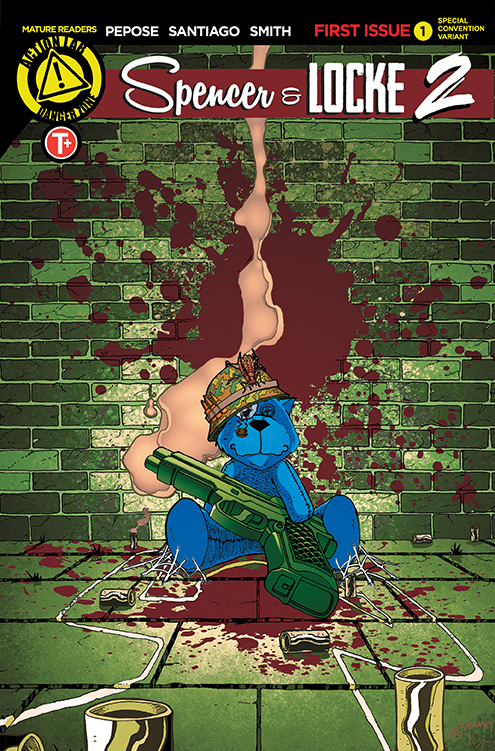 SL2 Mulvey Cover Reveal - Spencer & Locke 2 #1 Comic Review