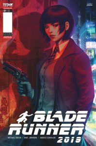 br cover a page 001 198x300 - Titan Comics released images from the first issue of Blade Runner 2019 and it's looking good.