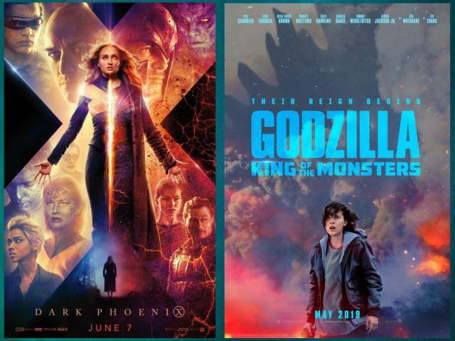godzilla - Flash Reviews of Godzilla: King of the Monsters & Dark Phoenix