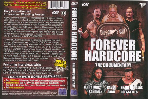 ecw - Forever Hardcore: The ECW documentary