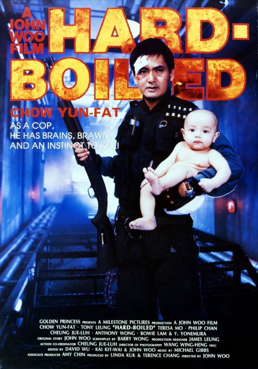hard boiled poster - Retro-Movie of the Month: HARD BOILED (1992)