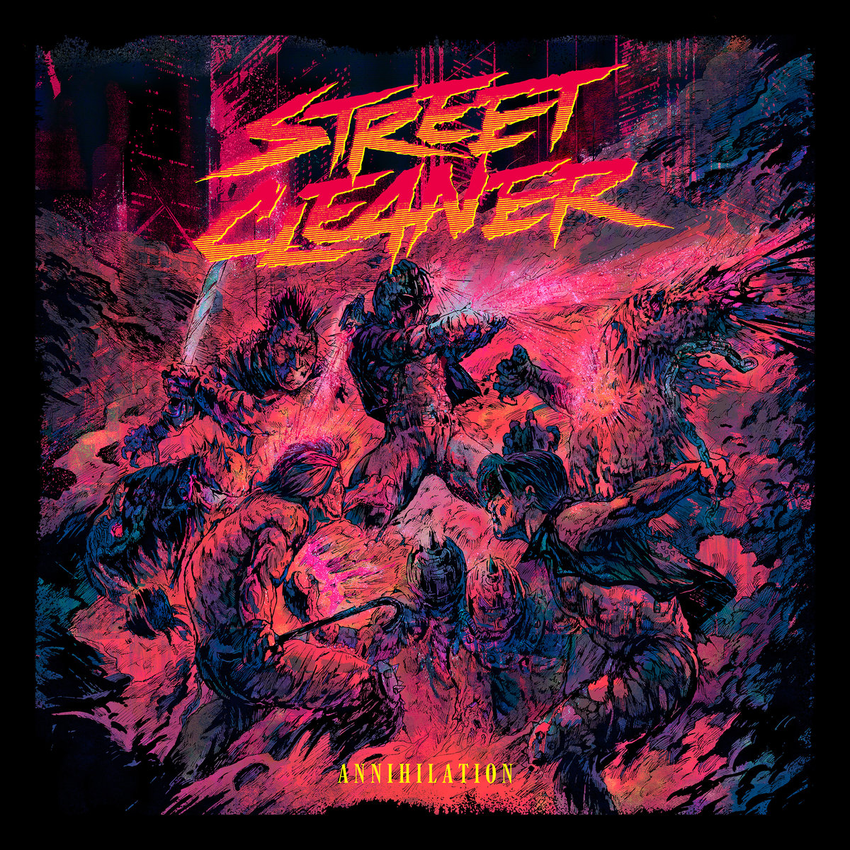 a4213510820 10 - Street Cleaner - Annihilation Release and Tour News