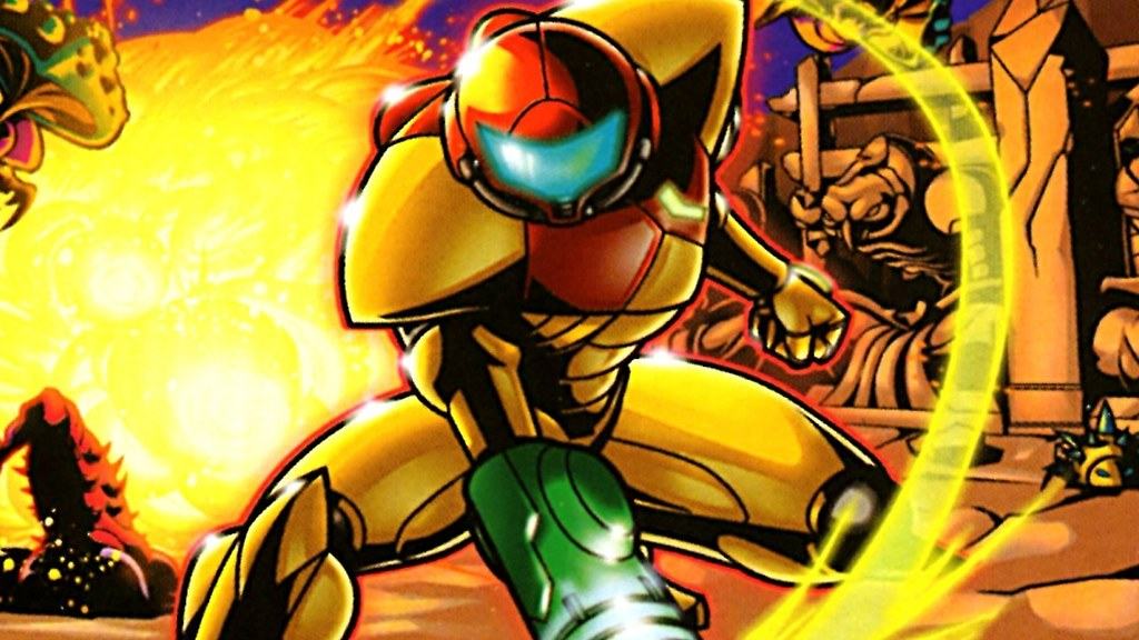 Metroid - Ten Retro Games You Can Play on a Retro Game PC Emulator