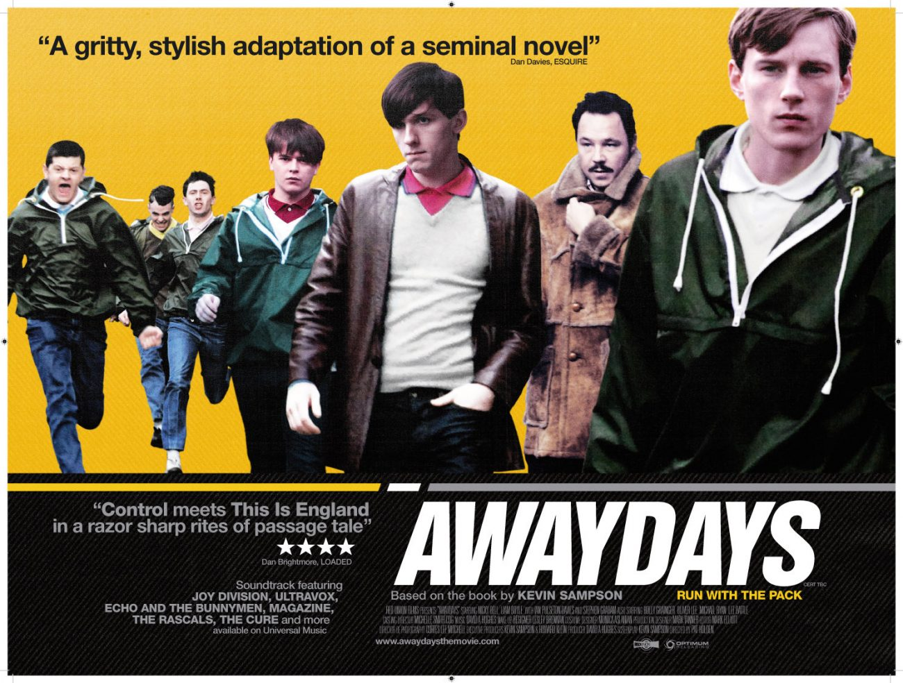 awaydays 1300x984 - Retro Movie of the Month: AWAYDAYS (2009)