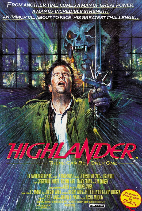 Highlander film Connor MacLeod - RETRO MOVIE of the Month: HIGHLANDER 1986