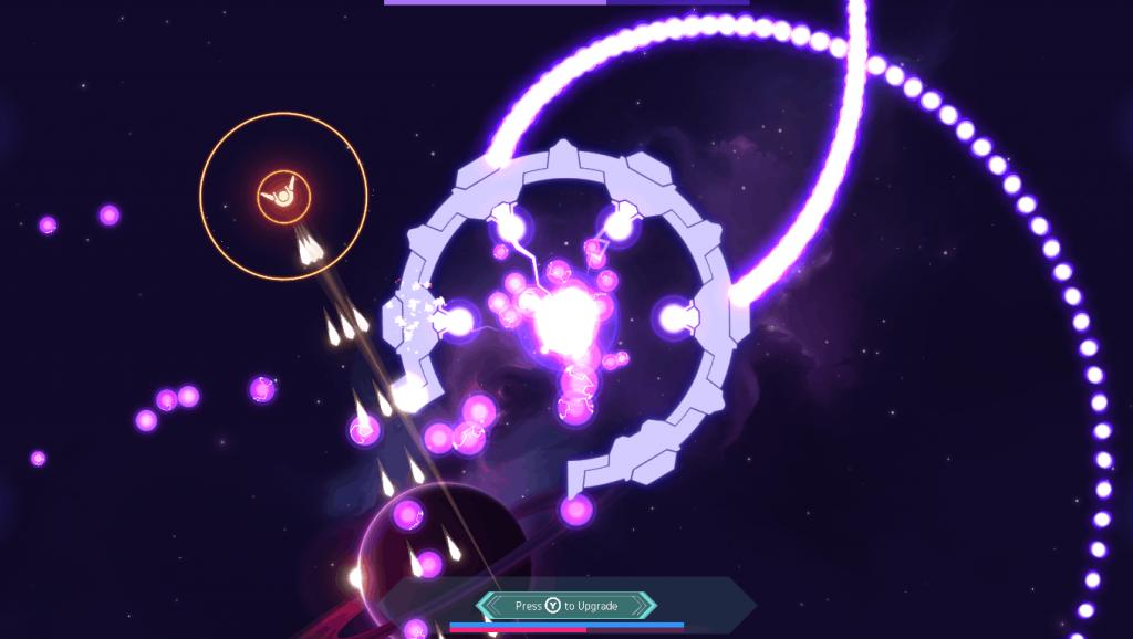Nova Drift Screenshot Boss 1024x578 - Top Ten Retro Themed Video Games of 2019