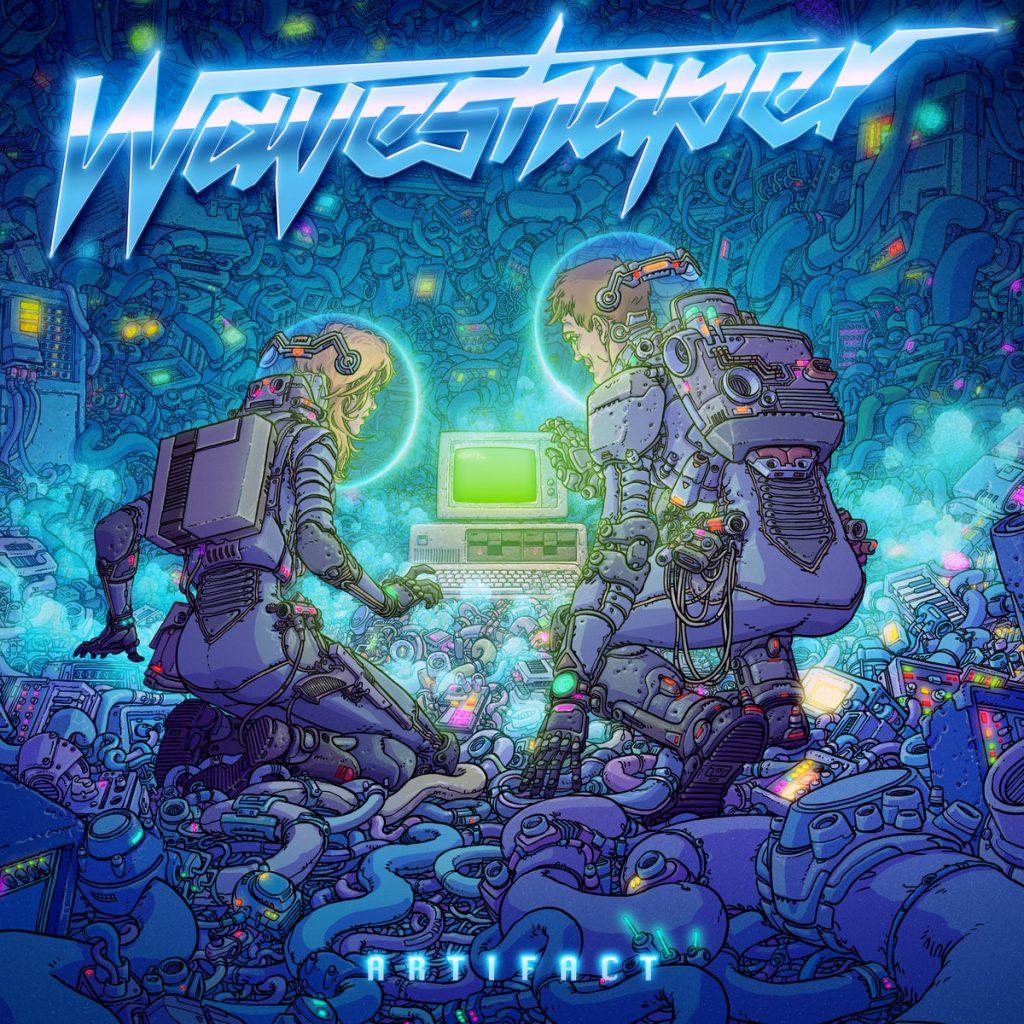 Waveshaper Artifact 1024x1024 - Top 10 Retrowave Album Art of 2019